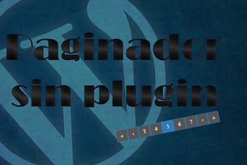 Paginación en WP sin plugin