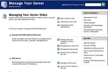 Instalación Controlador de dominios WS 2003